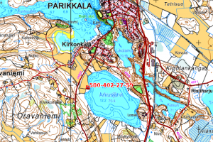 Omakotitalon tontti Arkusjärven rannalla 35.500 €