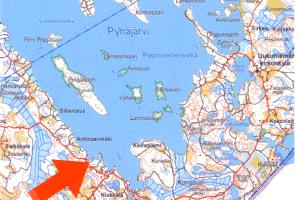 Kaksi vierekkäistä rantatonttia Pyhäjärven rannalla  38.000 ja 45.000 €