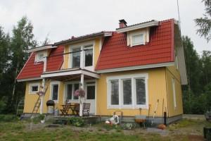 Omakotitalo Simpelejärven rannalla 235.000 €
