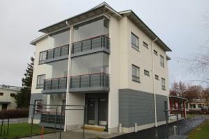 Uusi kerrostaloasunto 2h+kt+s=44 m2 Parikkalan keskustassa 134.600 €