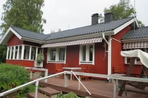 Omakotitalo Simpelejärven rannalla 129.000 €