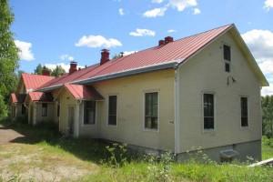 Uukuniemen kirkonkylän entinen koulu